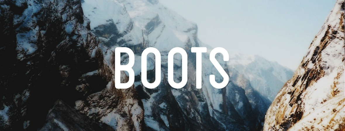 Boots, for storytellers writing the first draft